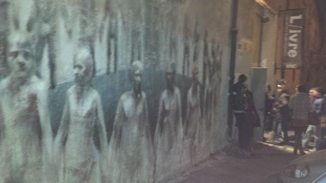 l'entrata di Esc nel quartiere di San Lorenzo a Roma