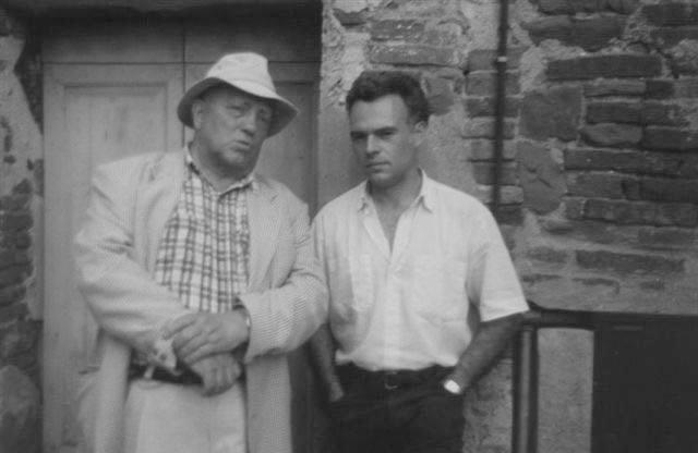 Luca Scacchi ( a sinistra nella photo) e Davide Di Maggio