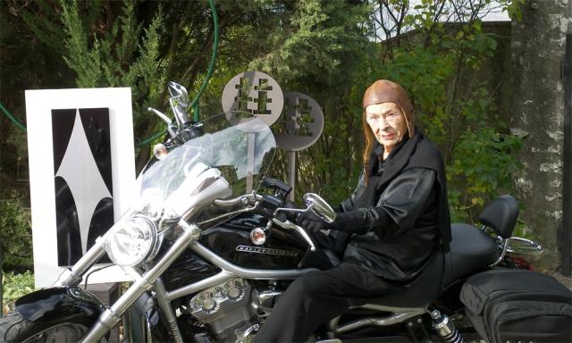 Diana Baylon nel suo Hermitage fiesolano