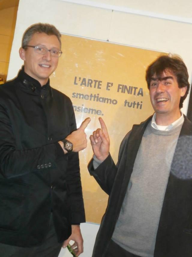 a sinistra Lorenzo Lome Menguzzato