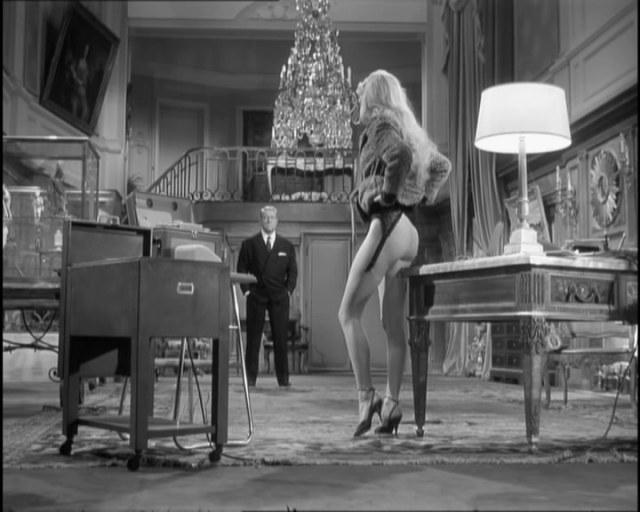 Brigitte Bardot e Jean Gabin in En cas de malheur