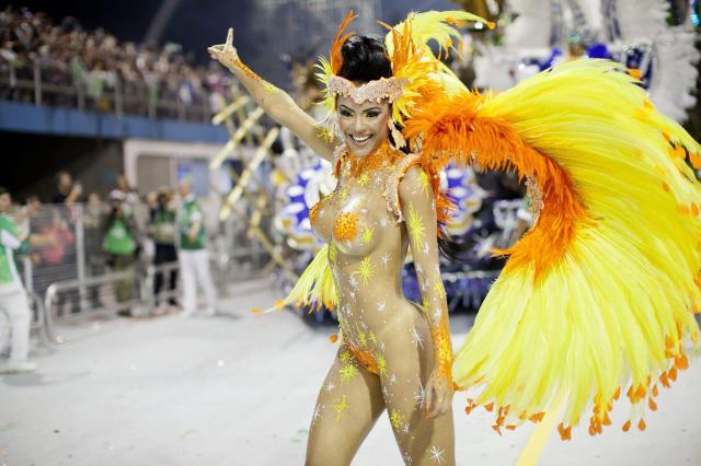 desfile al sambodromo di Rio