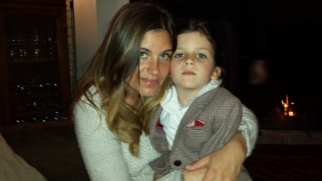 Carolina Bernasconi con la figlia Nina Loda Zabetta
