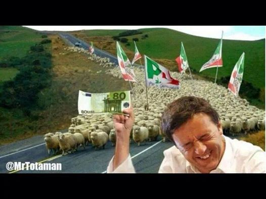 Fi/renzi e i pecoroni italioti