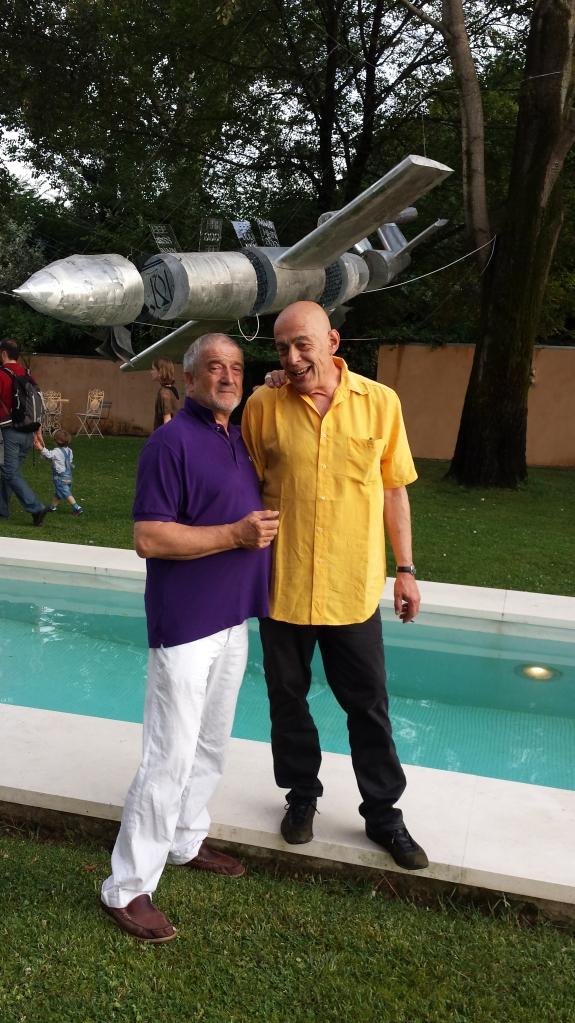 Giampaolo di Cocco con il titolare del blog
