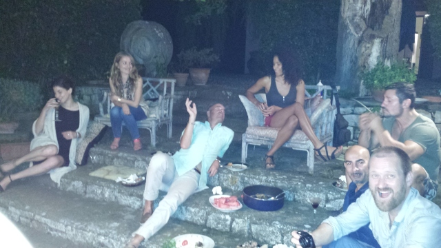 esterno Notte at Diana Baylon's hermitage