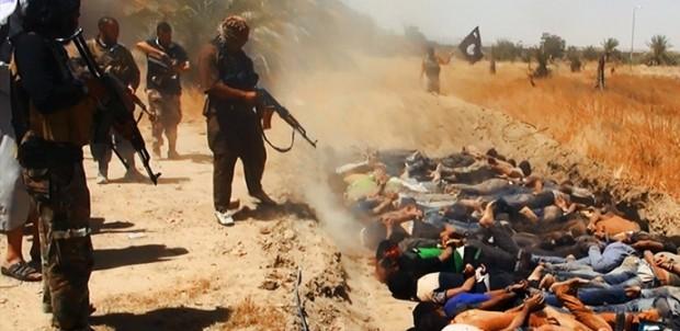 esecuzione sommaria da parte dell'Isis