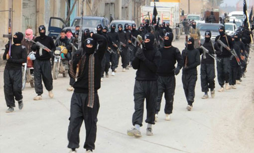 uomini dell'Isis