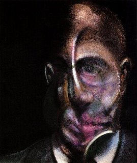 Francis Bacon, portrait of Michel Leris