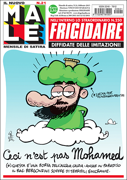 cover Il Male & Frigidaire n. 236