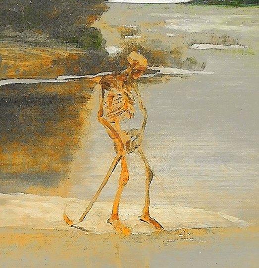 Max Klinger - Death Pissing (1900)