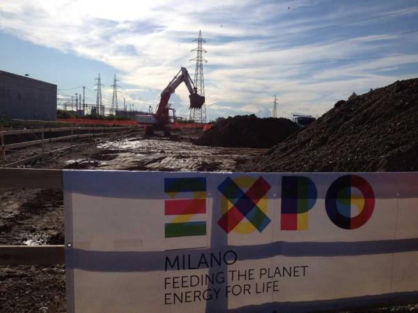 Expo 2015 lavori sempre in corso