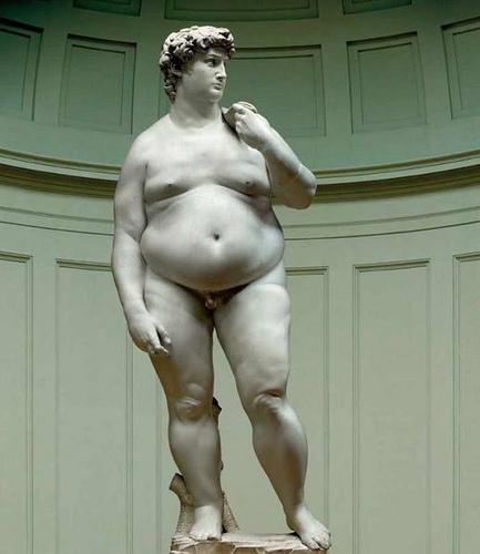 il David in/grassato