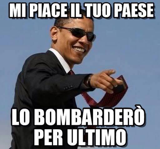 Obama ridens