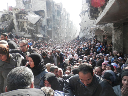 palestinesi e siriani in Libano