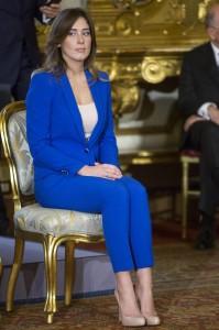 Elena Boschi giura al Quirinale ph Roberto Monaldo