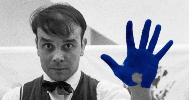 L'International Klein Blue è stato mescolato dall'Yves Klein ...