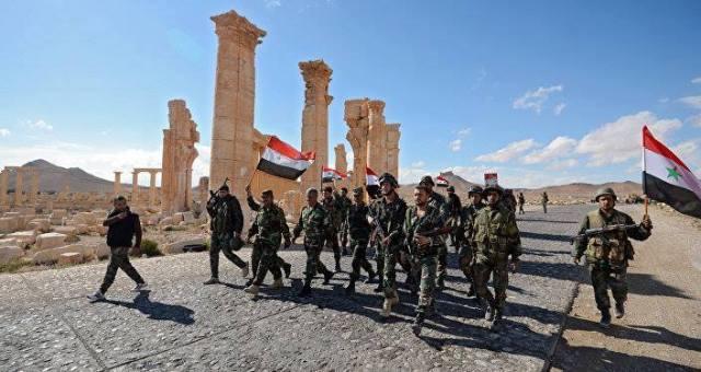 liberazione di Palmira