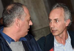 Peter Gomez e Marco Travaglio